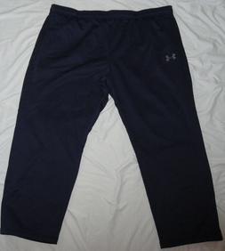 NEW! UNDER ARMOUR Storm Sweatpants Mens BIG 4X 4XL Navy Blue