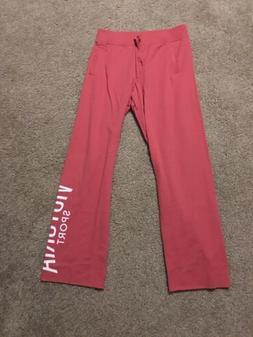 New Victorias Secret Sport Essential Boyfriend Pants Pink Sw