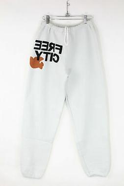 New Free City Womens Loungewear Fleece Freecity Sweatpants M