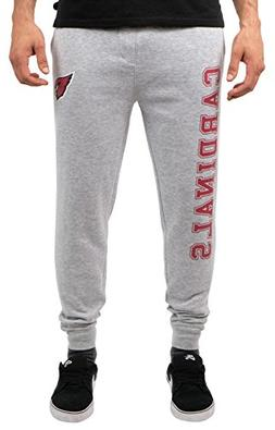 NFL Arizona Cardinals Men's Jogger Pants Active Basic Fleece