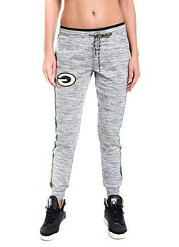 NFL Green Bay Packers Women's Jogger Pants Active Basic Flee