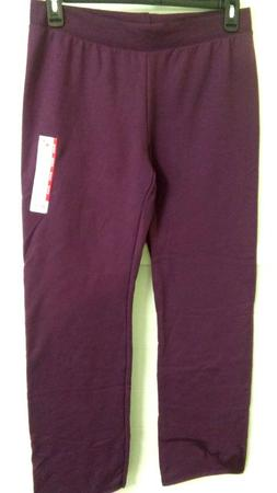 NICE GIFT or WEAR! COMFORABLE PLUM Athletic Sweat Pants 12/1