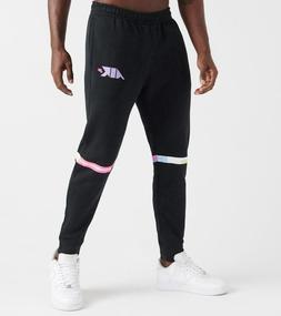 Nike NSW Air Club Fleece Joggers Pants Black Purple CQ7168-0