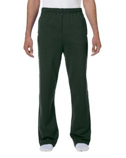 Jerzees 8 oz. NuBlend 50/50 Open-Bottom Sweatpants>2XL FORES
