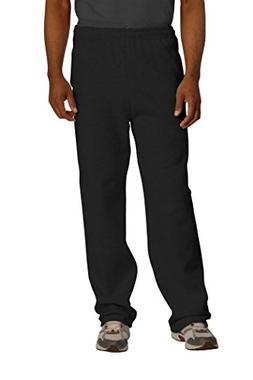 JERZEES NuBlend Open Bottom Pant with Pockets-M