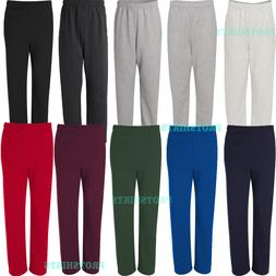 Jerzees - NuBlend® Open Bottom Pocketed Men's Sweatpants -