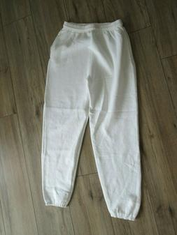NWOT Vintage Discus Heavyweight Sweatpants 90s Mens White 50