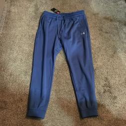 NWT$50 Under Armour Men's Storm Joggers Sweatpants Blue Cold