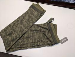 NWT $79.50 Michael Kors Men's Large Camo Jogger Pants,Swea