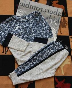 NWT Abercrombie Kids Sweatpants & Sweatshirt - Size 5/6