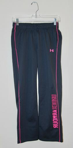 Under Armour Storm Boyfriend Pant sweatpants NWT girls/' L YLG gray pink