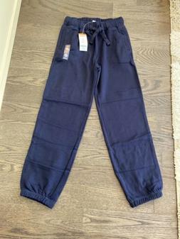 NWT GYMBOREE BOYS Navy Blue Pull On / Drawstring Size 8 Swea
