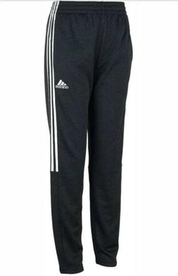 NWT adidas Boys' Tapered Trainer SWEATPants Black 1351286