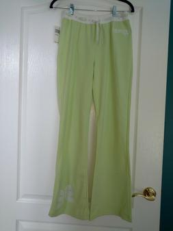 NWT Girl's SKECHERS Lime Green Embellished Tie-Front Sweat