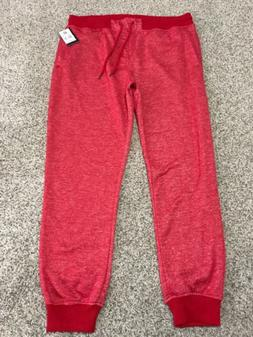 NWT SOUTHPOLE JOGGERS SWEATPANTS MARLED RED MEN'S SIZE XXL E