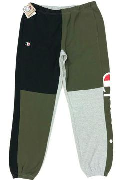 nwt life reverse weave color block jogger