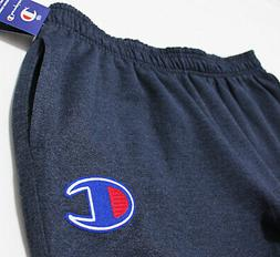 NWT CHAMPION Men's Big-C Patch Cuffed Navy Sweatpants XL X-L