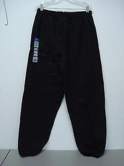 NWT Men's Gildan Cotton Blend Sweatpants Size XL Black #121D