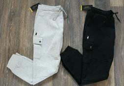 NWT Polo Ralph Lauren Men's Fleece Jogger Cargo Sweatpants G