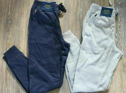 NWT Polo Ralph Lauren Men's Fleece Jogger Sweatpants Gray Na