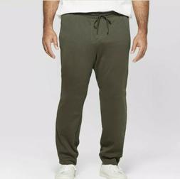 NWT Men's Goodfellow Jogger Pants Sweatpants Olive/Green Big