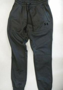 NWT Under Armour Men's Medium Storm Gray Joggers Sweatpants