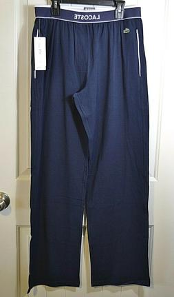 NWT MEN'S LACOSTE NAVY BLUE SLEEPWEAR SWEAT PANT SZ M, XL