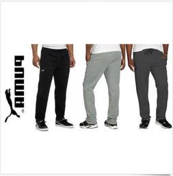 NWT!! Puma Men's Plush Fleece Sweatpants Drawstring Pant Siz