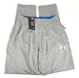 NWT Under Armour Mens Size Small S Grey Tapered Sweat Pants