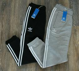 NWT ADIDAS ORIGINALS Men's 3 Stripe Trefoil Fleece Jogger Sw