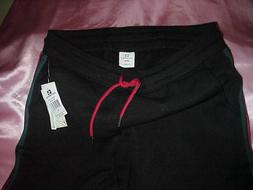 NWT W0mens Junior Southpole Black Stretch Sweats/Sweatpants