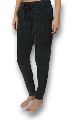 NWT Women's Black Fleck CHAMPION Jogger Sweat Pants Size XS
