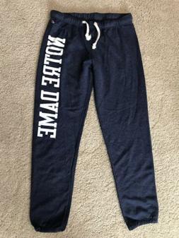 NWT!! Women's Notre Dame Sweatpants Blue Size XL