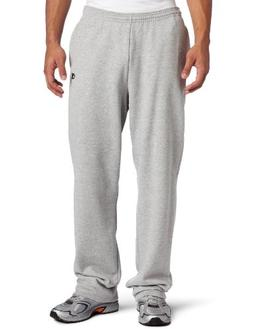 Champion Men's Open Bottom Eco Fleece Sweatpant, Oxford Gray