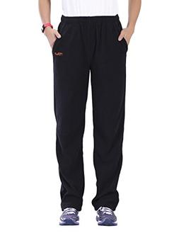 Nonwe Women's Outdoors Casual Fleece Hiking Sweat Pants Blac
