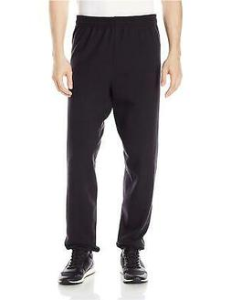 Hanes P650 Comfort Blend Ecosmart Mens Sweatpants, Black - S