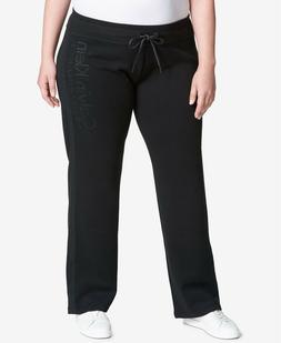 Calvin Klein Performance Womens Fleece Sweatpants Plus Size