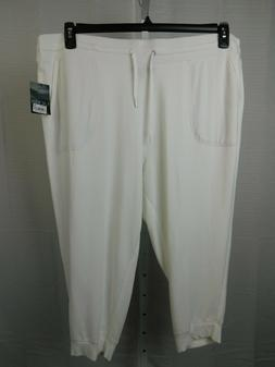 Ralph Lauren Plus Size French Terry Cropped Skinny Sweatpant