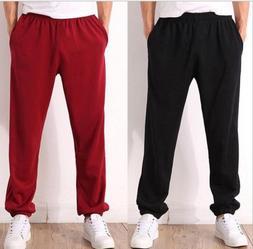 Plus Size Men Workout Leisure Sweatpants Sport Trousers Tenn
