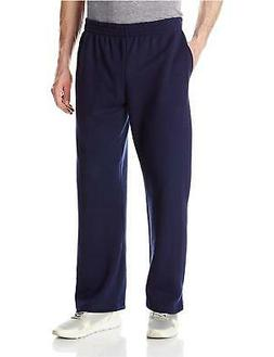 pocketed open bottom sweatpant