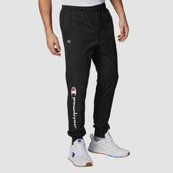 Champion Men's Powerblend Sweats Open Bottom Pants Black XL