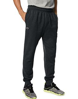 Champion Men's Powerblend Retro Fleece Jogger Pant, Black, S