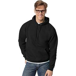 Hanes Men's Pullover EcoSmart Fleece Hoodie, Black, 3X-Large