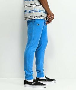 Champion Reverse Weave Pigment Dye Jogger Sweatpants Blue Si