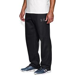 Under Armour 1248351  Men's Rival Fleece Pants, Black/Graphi