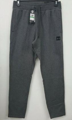 Under Armour Rival Grey Heather Men's Fleece Pants Size Larg