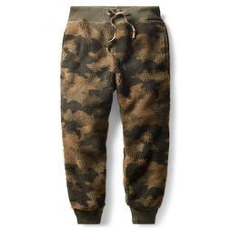 RRL Ralph Lauren Thick Camo Fleece Sweatpant-MEN- XL