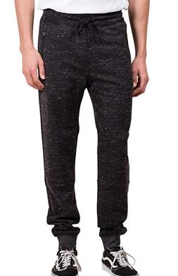 Brooklyn Athletics Men's Fleece Jogger Pants Active Zipper P