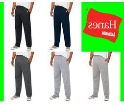 Hanes Men Fleece Sweatpants w/ pockets ComfortSoft Low-pill