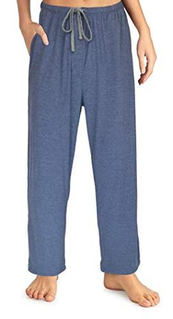 EVERDREAM Sleepwear Womens Jersey Knit Pajama Pants, Long Pj